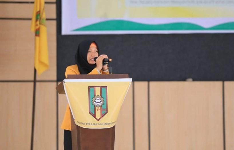 Ketua IPM Luwu Timur Siti Nur Ariska
